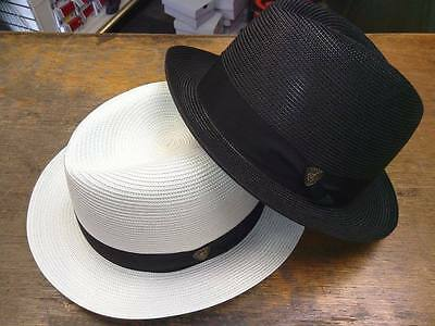 Dobbs Parker Florentine Milan Mens Straw Summer Hats New with Tags