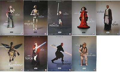Star Wars Episode 1 9 Huge French Poster Lot Darth Maul Obi-Wan Mace Windu Clean