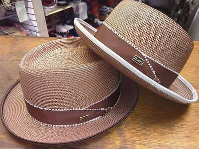 STEVE HARVEY DOBBS Stylin Mens Straw Summer Hats Made in USA New ... 9d3145e659c