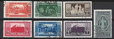 Italy nr 318-324 used