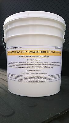 Root Killer Foaming 10Lbs Sewer Septic Drain Clears Pipe Patriot Chemical Sales