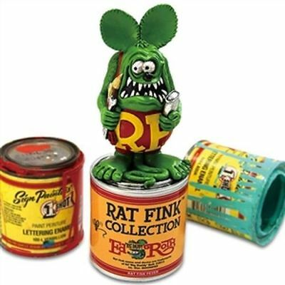 RAT-FINK-PAINT-CAN-STATUE-RESIN-MATERIAL-HOTROD-GASSER-RAT-FINK-COLLECTABLE  RA