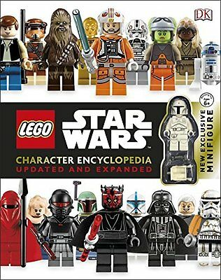 Lego Star Wars Character Encyclopedoia Updated & Expanded [2015] [Book] New