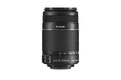 SEALED Canon EF-S 55-250mm f/4-5.6 IS II SLR Autofocus Lens for Canon Cameras