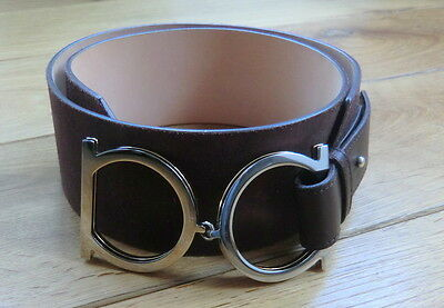 Original SALVATORE FERRAGAMO brown Suede/Wildleder Belt