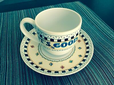 Mary Engelbreit Cup and Saucer It's Good to Be Queen