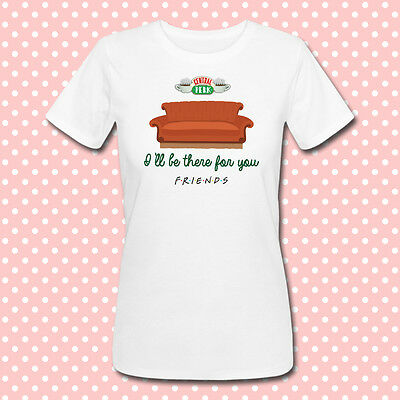 "T-shirt donna con stampa ""Central Perk, I'll be there for you"" Friends inspired"