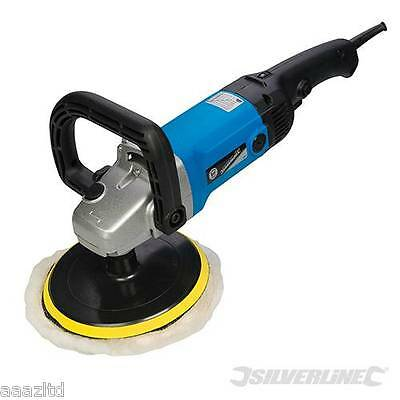 Car Mop Polisher Buffer and Sander 180mm 1200w for Right or Left Handed Use