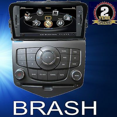 Holden Cruze In Dash Gps Dvd Navi Bluetooth Stereo Head Unit Am/fm Plug And Play