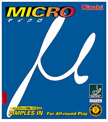 Nittaku Micro Table Tennis Rubber - 1.8mm thickness