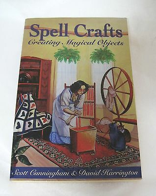 Spell Craft Make Magical Objects Scott Cunningham D Harrington Wicca Witchcraft