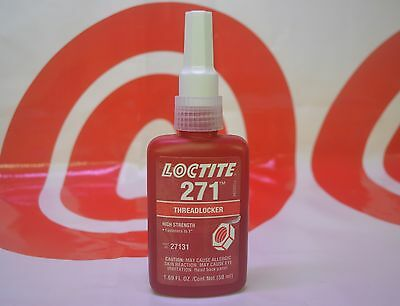NEW Loctite 271 50ML High Strength Thread Locker  EXP 8/2017  27131  MADE in USA