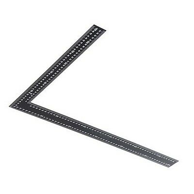 Steel Framing Square Straight Edge Right Angle Ruler 600mm x 400mm x 20