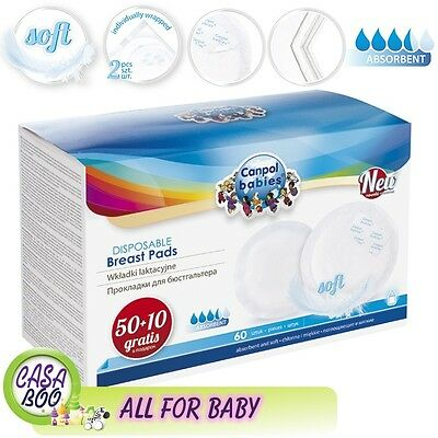 60  Disposable Maternity Nursing Breast Pads (60pcs) -very soft  more ABSORBENT