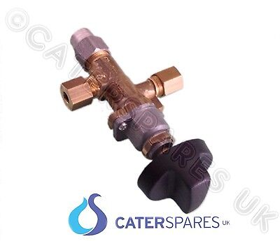 "6Mm (1/4"") Catering Equipment Gas Griddle Control Valve & Knob Off-Hi-Lo Setting"