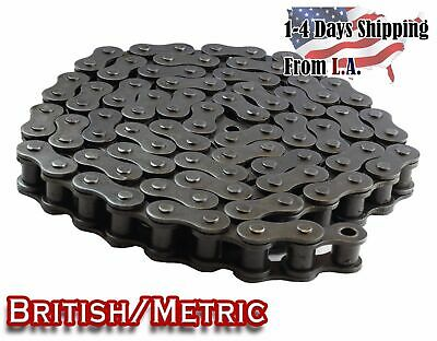 #08B Metric Standard Roller Chain 10 Feet with 1 Connecting Link
