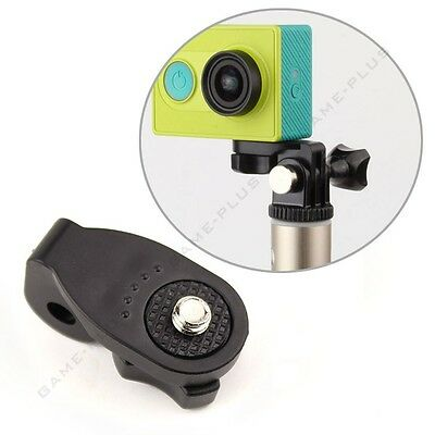 "1/4"" Quick-Release Mini Tripod Mount Monopod Adapter for GoPro Camera Xiaoyi New"