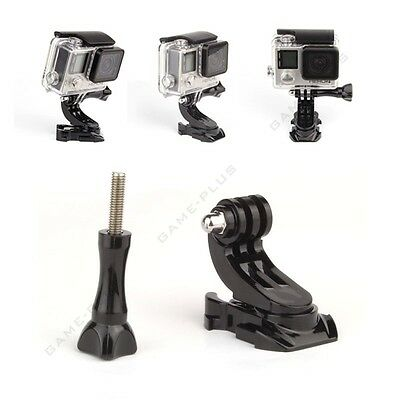 360° Swivel Vertical J-Hook Buckle Mount Adapter Holder for GoPro Hero 4 3+ 3 2