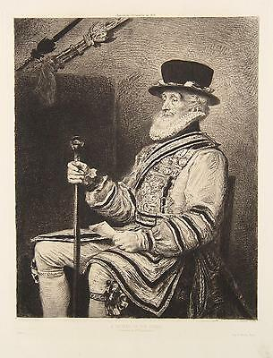 John Everett Millais Yeoman Yeomen Guard Garde Leibwache Uniform Tower London