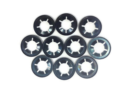 Genuine Starlock Washers For Imperial Round Shaft, push on clips, retainers