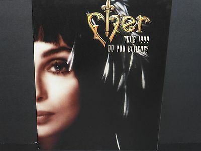 CHER 1999 Do You Believe tour book program excellent condition sonny and
