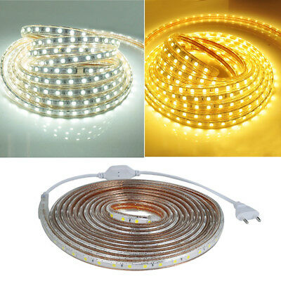 2-5M impermeable 12V 22-58W 300 blanco LED luz de tira