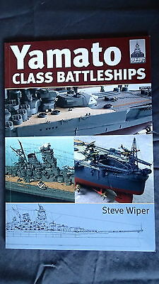 WW2 Japanese Yamato Class Battleships Ship Craft 14 Reference Book