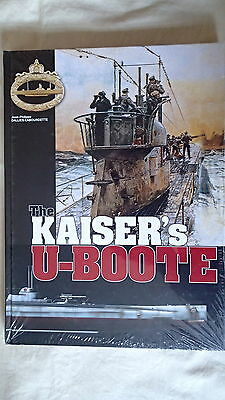 WW1 German The Kaisers U Boote Submarine Reference Book