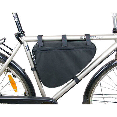 Big Triangle Frame Bag Bicycle Cycle Bike - 3 Litres Capacity