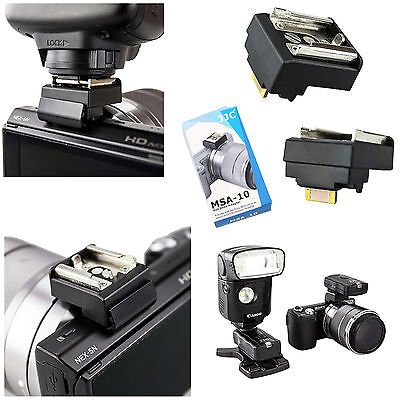 Adattatore slitta flash hot shoe per Sony NEX-5R adapter JJC MSA-10 NEX5R