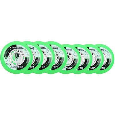 LABEDA WHEELS Inline Roller Hockey SHOOTER ALL PURPOSE HILO SET 76mm / 80mm 83A