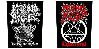 MORBID ANGEL Sew On Back Patch/Patches NEW OFFICIAL. Choice of 2 designs