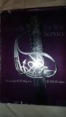 British Royal Navy RN Swords for Sea Service 2 Volumes RARE Reference Book