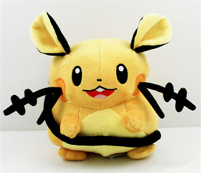 "8"" Cute Pokemon Dedenne Kids Toy Soft Plush Stuffed Toy Doll Birthday Gift"