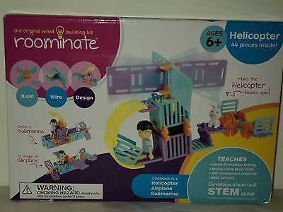 """NEW! Roominate """"The Original Wired Building Kit""""  44 Pieces Inside"""