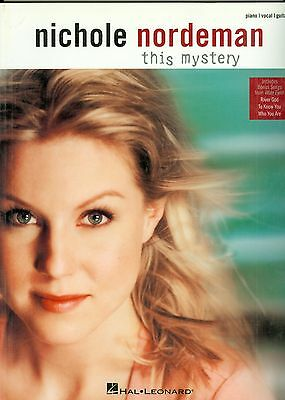 Nichole Nordeman This Mystery songbook sheet music