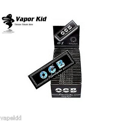 OCB PREMIUM Rolling Papers 50 Booklets