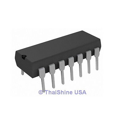 10 x TL074CN TL074 J-FET Quad Op Amp IC 4 Days Delivery
