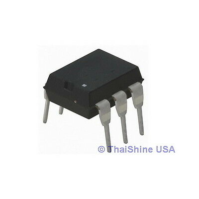 5 x 4N35 Optocouplers Phototransistor 30V DIP-6 - USA Seller - Free Shipping