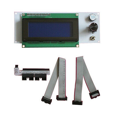 New Reprap RAMPS1.4 2004 LCD  Wh Best  controller + adapter&cable for 3D Printer