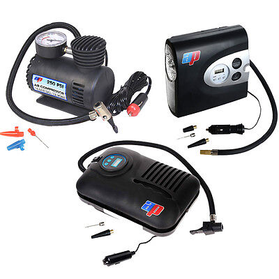 Air Compressors - Automatic Digital Analogue Tyre Tire Car Pump