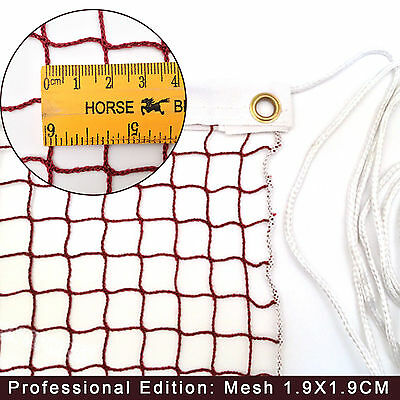 New 20 Feet  Outdoor Competition Badminton Court Games Quality Mesh Net