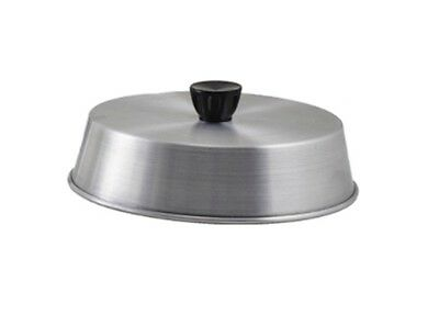 "Basting Cover 8"" Round Aluminum Grill Hamburger Cover NEW!"