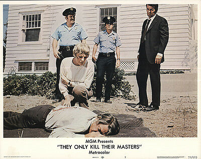 They Only Kill Their Masters 1972 Original Movie Poster Mystery Romance
