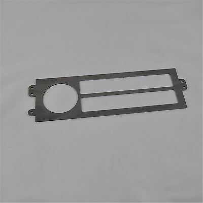 Steel Only - 88-91 Honda CRX Climate Control Repair Plate, Faceplate, AC Heater
