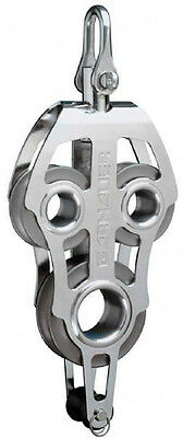 Fiddle Block - 50 Series - Adjustable Swivel Shackle and Becket