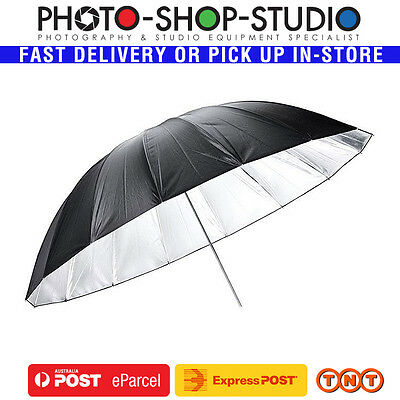 "Godox 60"" (153cm) Black & Silver Umbrella #UB-L3-60 *Authorised Dealer*"