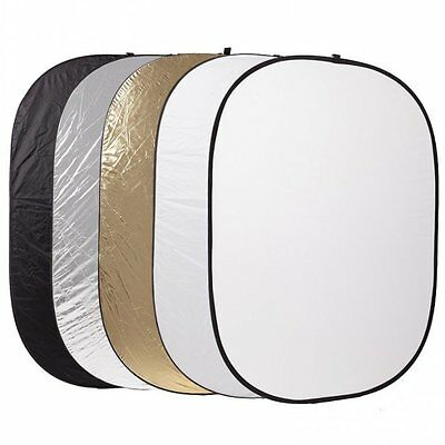 Godox 5 in 1 60x90cm Studio Light Diffuser Oval Reflector Disc + Carry Bag