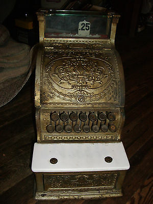 Vintage Antique National Cash Register, 1913, Collectible, Everything Works