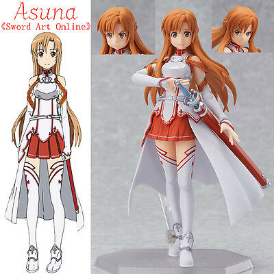 2015 newest Anime SAO Sword Art Online Asuna PVC Figure 15cm in box figma #178